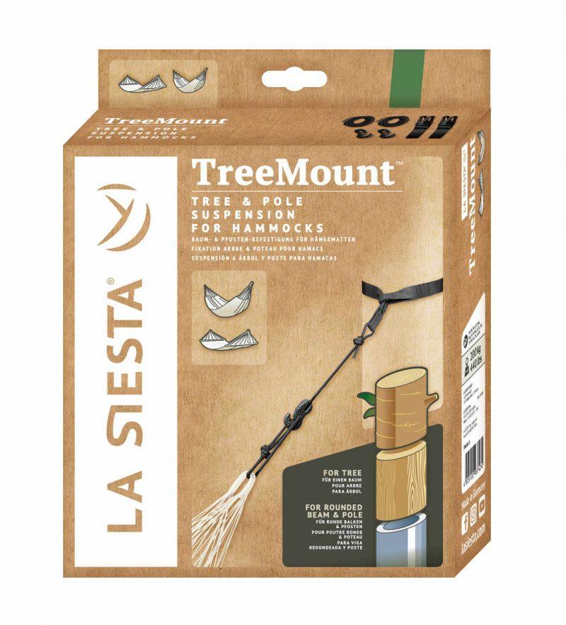 LA SIESTA TreeMount för hängmattor - förpackning
