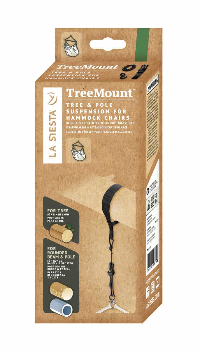 LA SIESTA TreeMount för hängstolar - förpackning