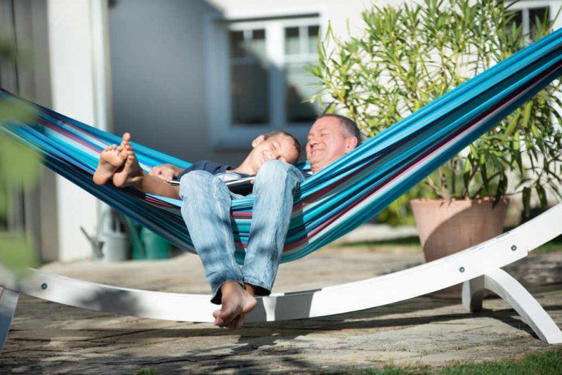 La Siesta Brisa Wave kingsize hängmatta - perfekt utomhus