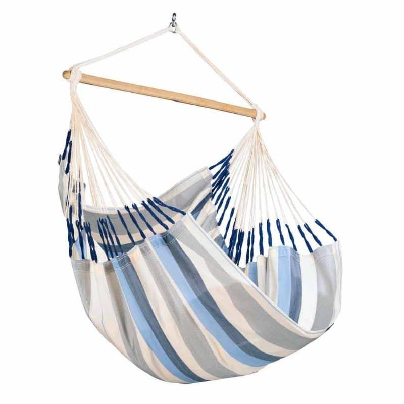 LA SIESTA Domingo Comfort hängstol Sea Salt - vädertåligt