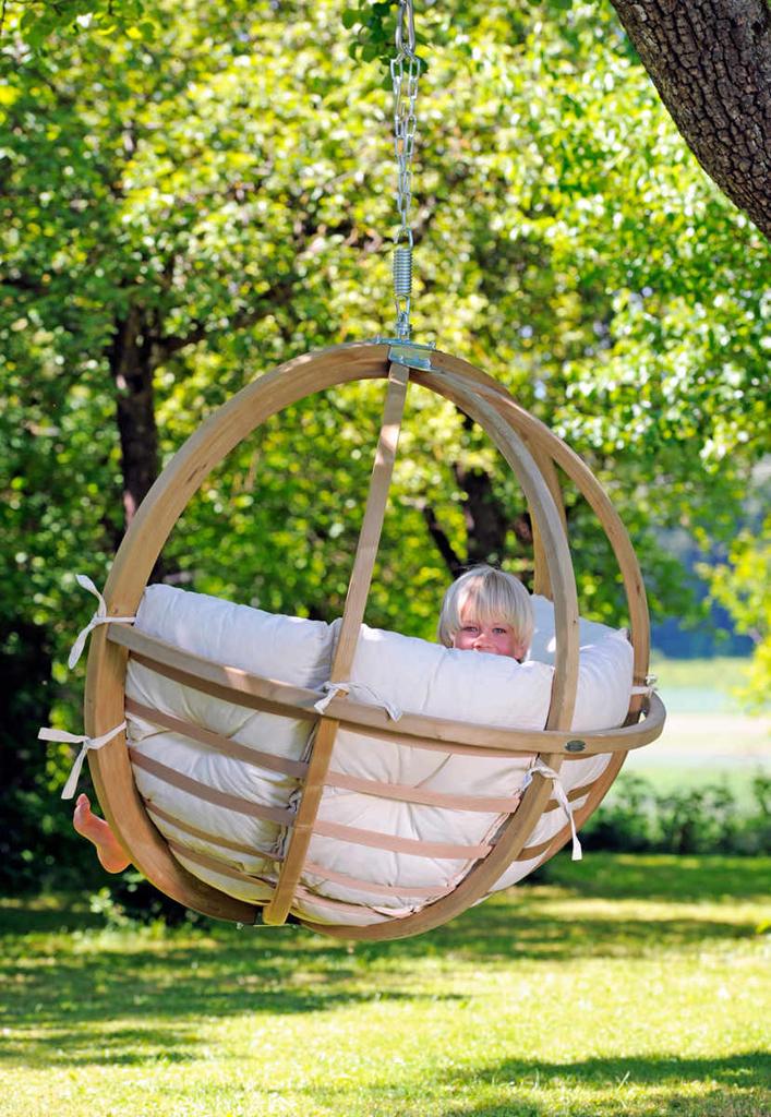 Amazonas hängstol Globo chair natura - mysigt lyx