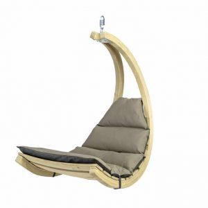 Amazonas Swing Chair antracit hängfåtölj - 2 färgade dynor