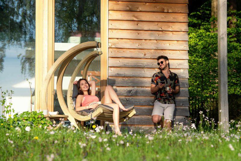 Amazonas Swing Chair antracit hängfåtölj - perfekt för uteplatsen