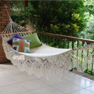 Lazy Rest hängmatta Dreams - perfekt utomhus