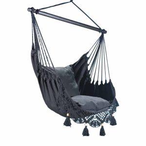 Lazy Rest hängfåtölj Deluxe black