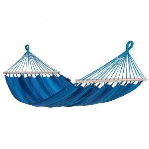 Tropilex Relax blue - singelhängmatta med spridare