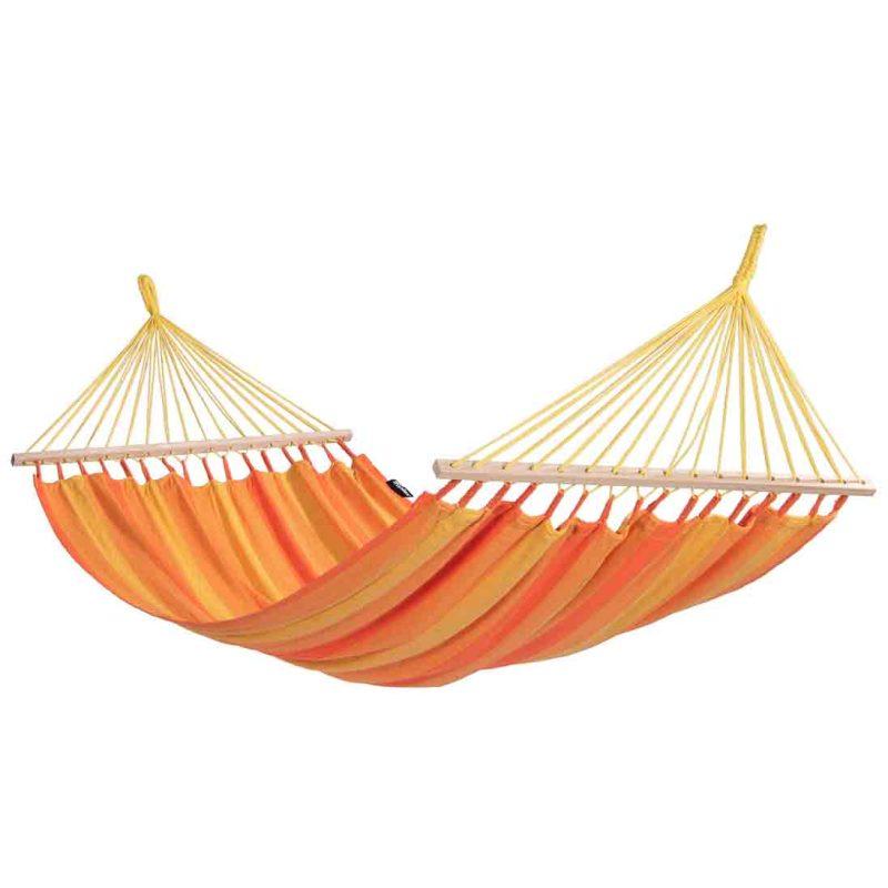 Tropilex Relax orange - singelhängmatta med spridare