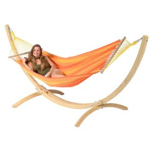 Tropilex hängmatta Relax orange - med ställning