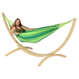 Tropilex Dream green och Wood ställning