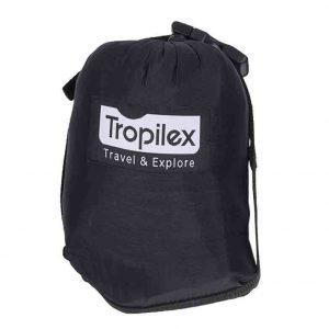 Tropilex resehängmatta Travel black - förvaringspåse