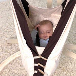 Amazonas Kangoo babyhängmatta - sluten position