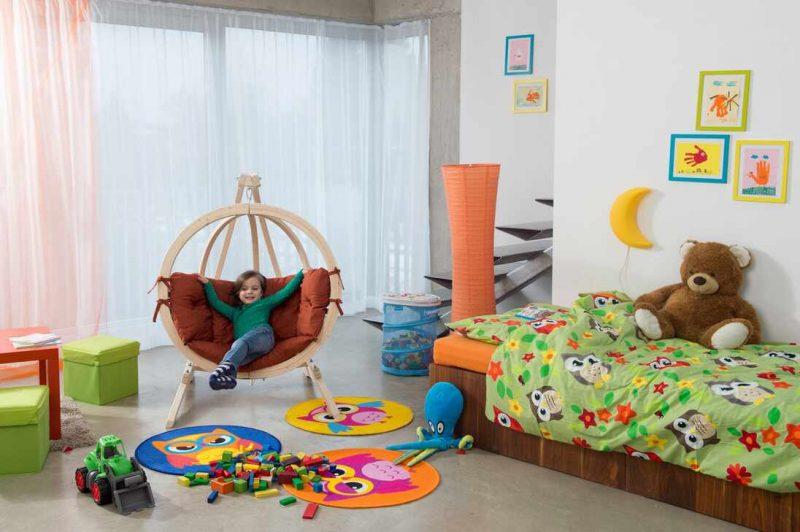 Amazonas Carrello Baby ställning och Globo Kids barnhängstol