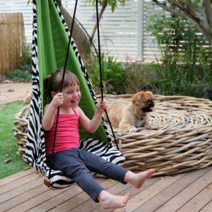 Amazonas Hang Mini zebra - vila och lek