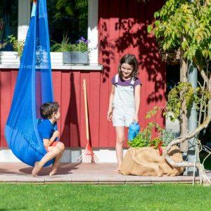 LA SIESTA barnhängstol Joki Air Moby - perfekt utomhus