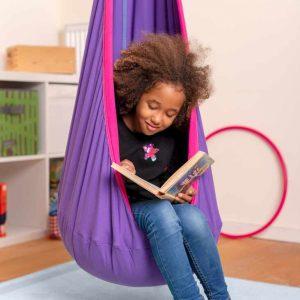 LA SIESTA barnhängstol Joki Lilly - mysig läsplats