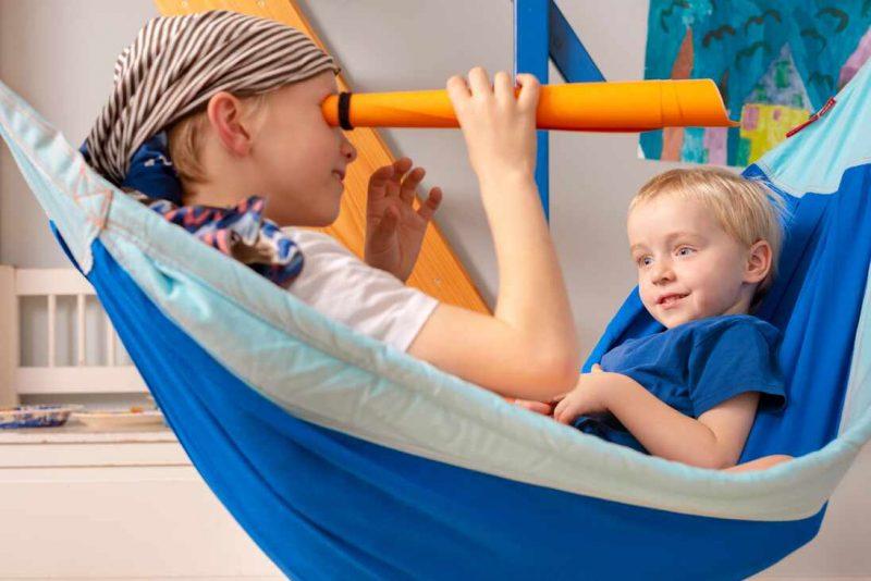 LA SIESTA barnhängmatta Moki Dolphy - barnsäker lek och skoj
