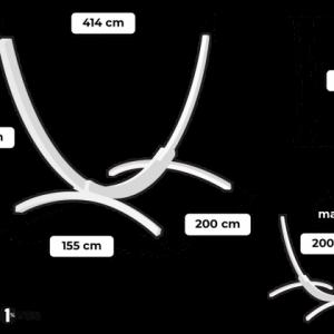 Tropilex Wood kingsize - storlekstabell