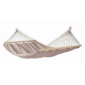 LA SIESTA Alisio almond - vädertålig dubbelhängmatta