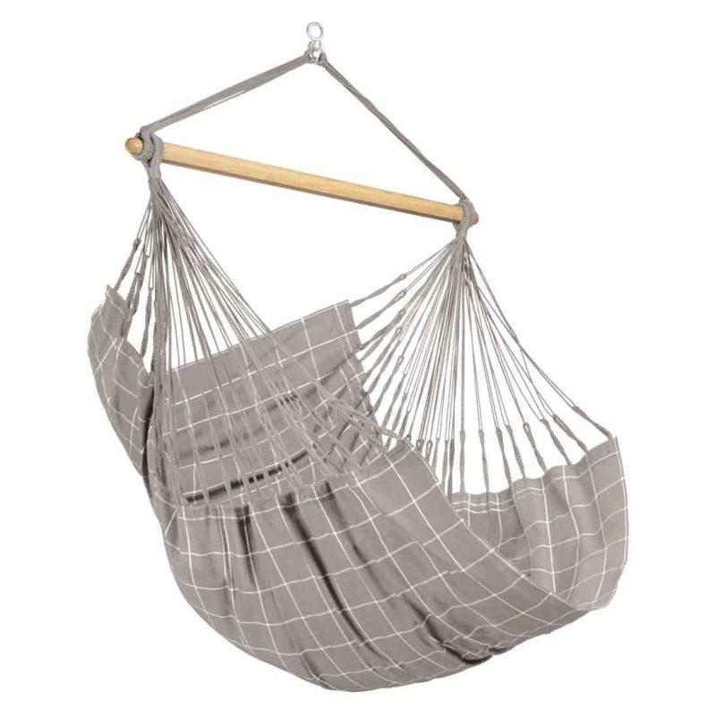 LA SIESTA Domingo Comfort hängstol Almond - vädertålig XL hängstol