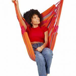 LA SIESTA Domingo Basic hängstol toucan - vädertåligt och bekvämt