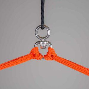 LA SIESTA Domingo Basic hängstol toucan - detalj upphängning