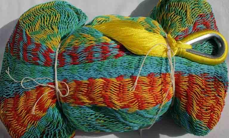 Macamex Mexicana multicolor Family - detalj nät