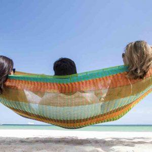 Macamex Mexicana multicolor Family - Maya hängmatta i bomull