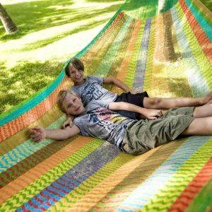 Macamex Mexicana multicolor Jumbo - Maya hängmatta i bomull