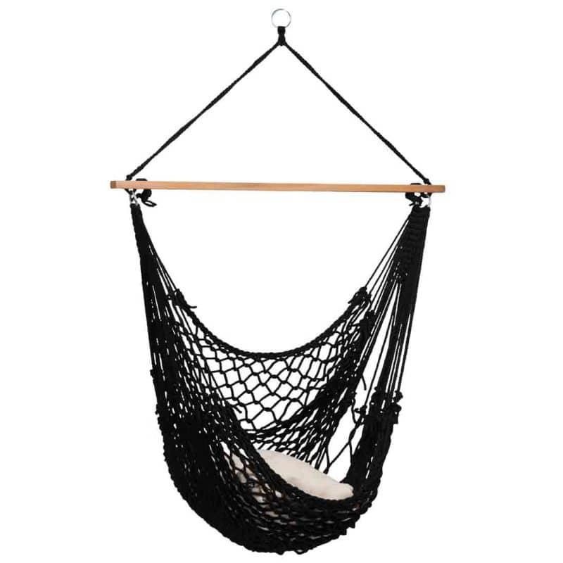 Tropilex hängstol Rope black - näthängstol