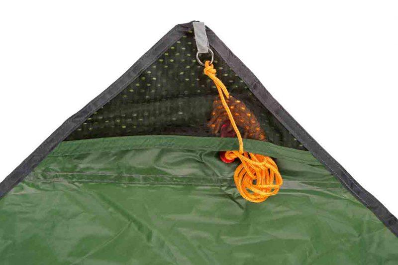 Amazonas Traveller Tarp XXL - hörnfickor för repet