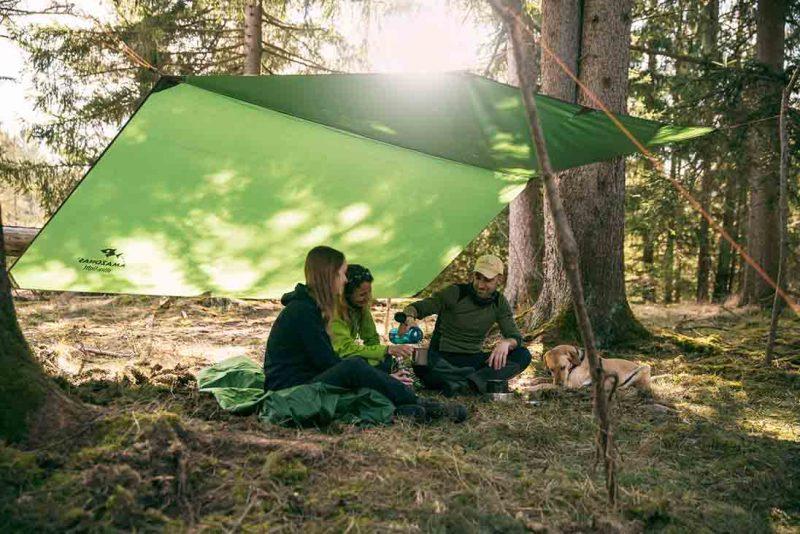 Amazonas Traveller Tarp XXL - soltak vid picknick
