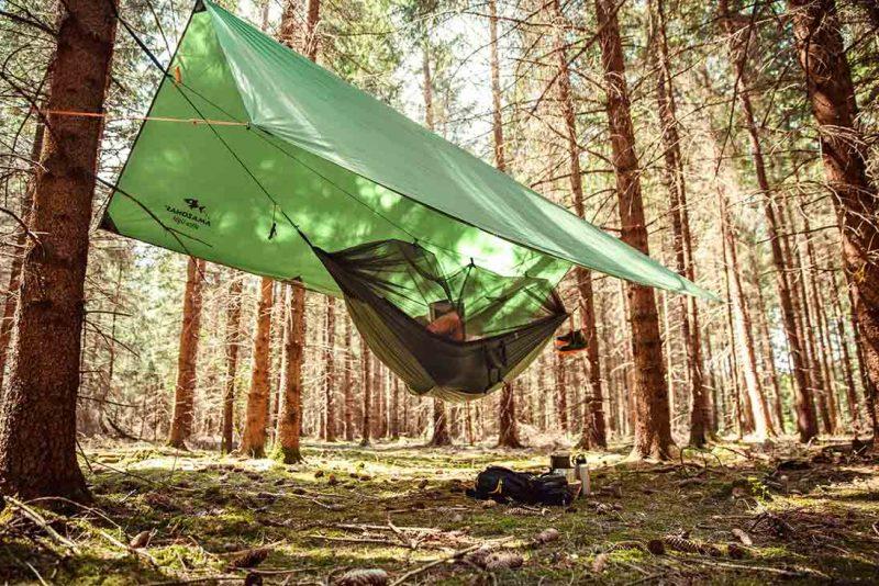 Amazonas Traveller Tarp XXL - regnskydd för din hängmatta