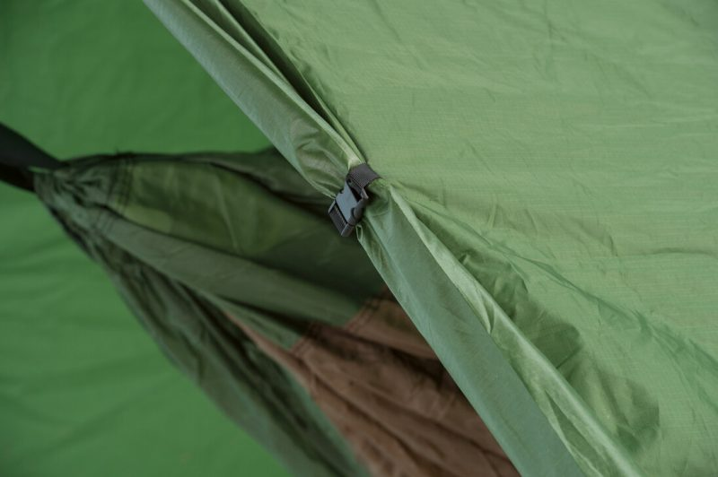 Amazonas Wing Tarp - öppen position