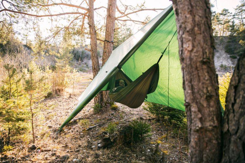 Amazonas Wing Tarp med hängmatta