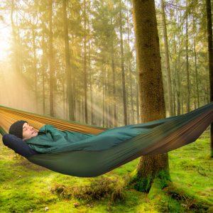 Amazonas topquilt - täcke för övernattning i hängmattan