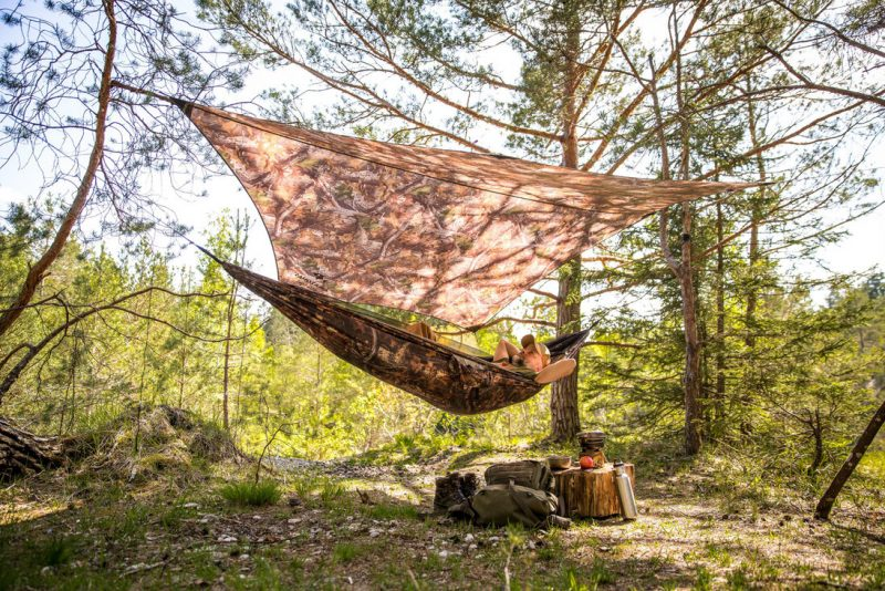 Amazonas Moskito Traveller Forest & regnskydd Traveller Tarp Forest