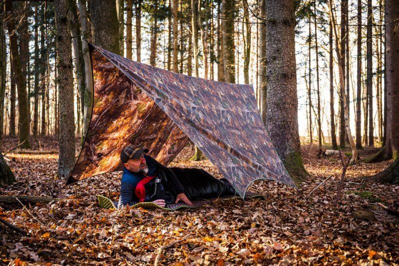 Amazonas Traveller Tarp Forest - regnskydd för camping på marken