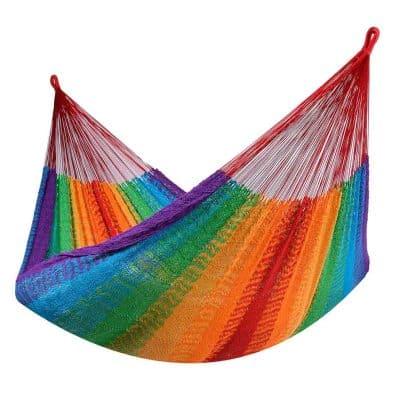 Tropilex Cancun rainbow - näthängmatta kingsize