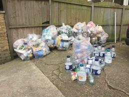 Waste Bottles in N4