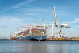 CMA CGM Kerguelen Southampton Dock