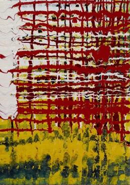 Liquid gloss & acrylic on canvas, 25 x 35 cm, 2011