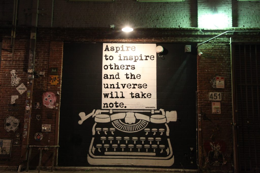 Aspire to inspire others