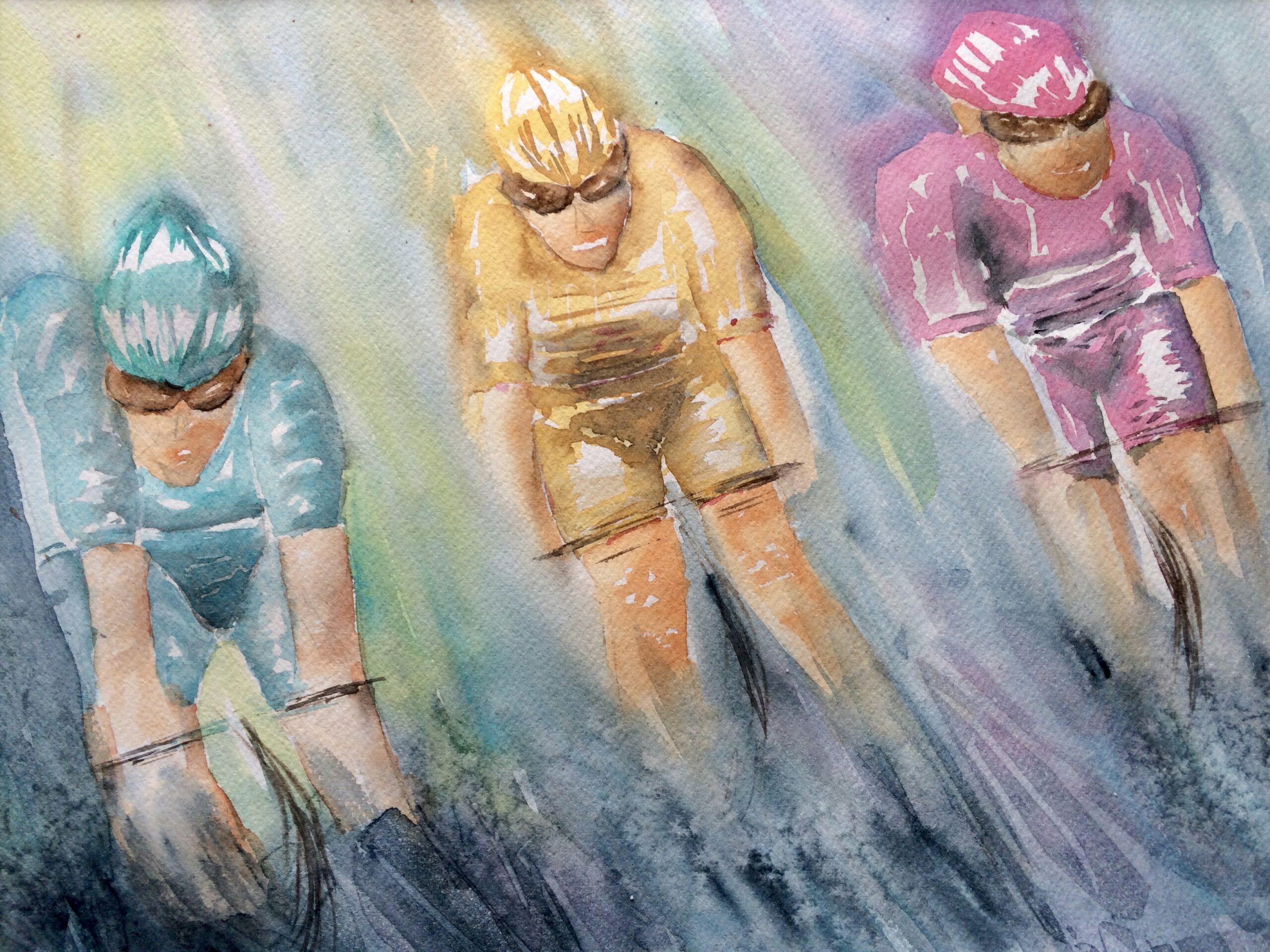 Tour de France. Hanne Ohlsen