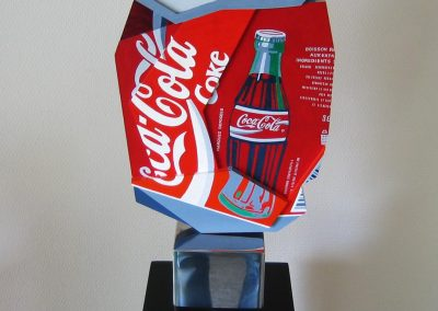 Cola sculpture