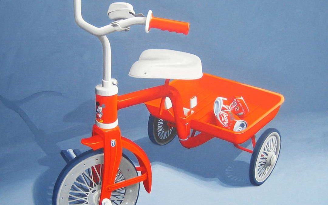 Mickey Mouse Styled Bike
