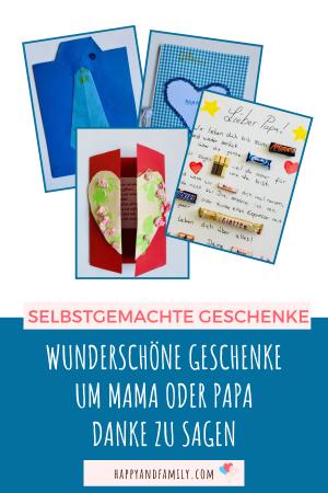 Ideen für Muttertag- und Vatertag-Geschenke - Pin