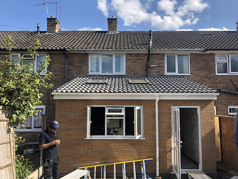 Extension building services - Hardbrick Construction