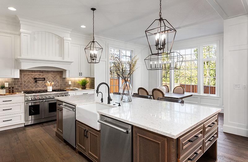 kitchen design, build and installation services Hardbrick Construction