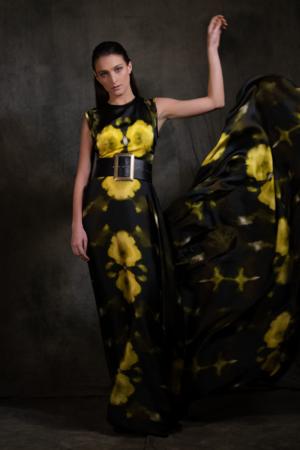 Resonate print dress