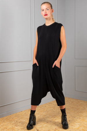 black bamboo jumpsuit